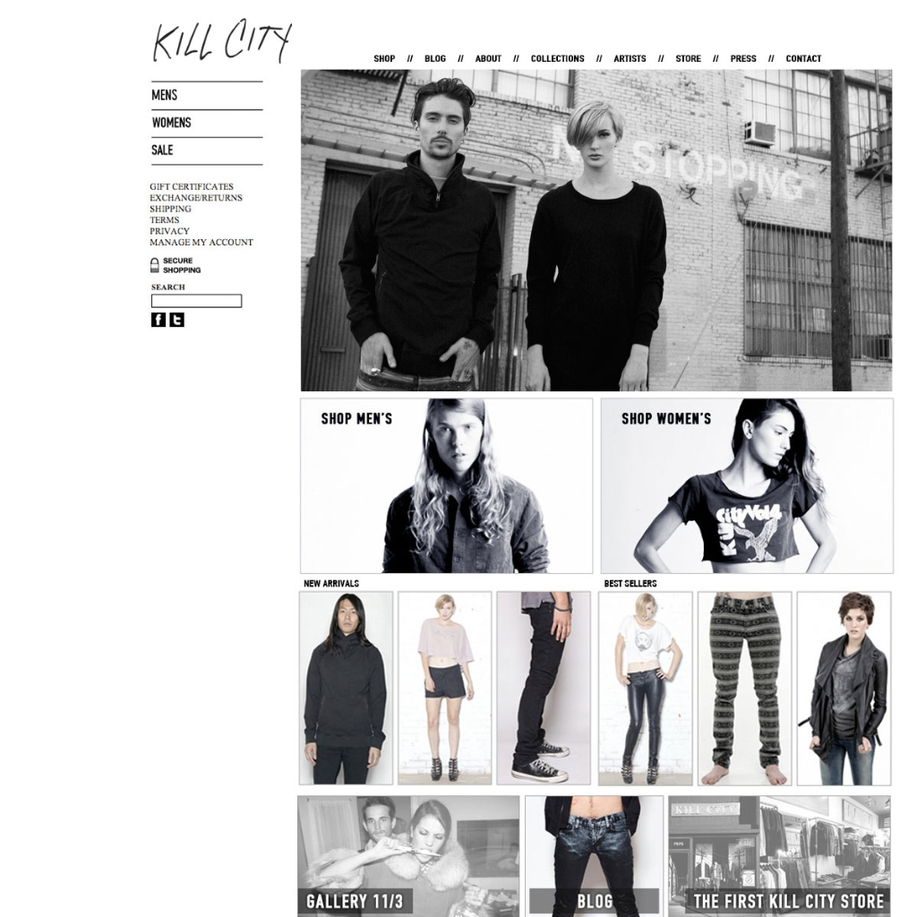 Fashion Web Design Portfolio